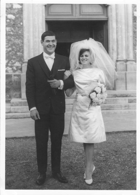 Mes parent en 1962