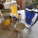 Les ingrédients de la Détox-Citron